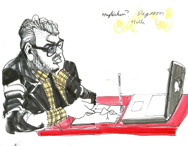 The Cartoonist.
