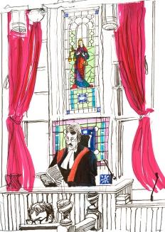 Lady Justice & Judge.