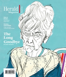 Portrait of Joan. Herald Magazine.