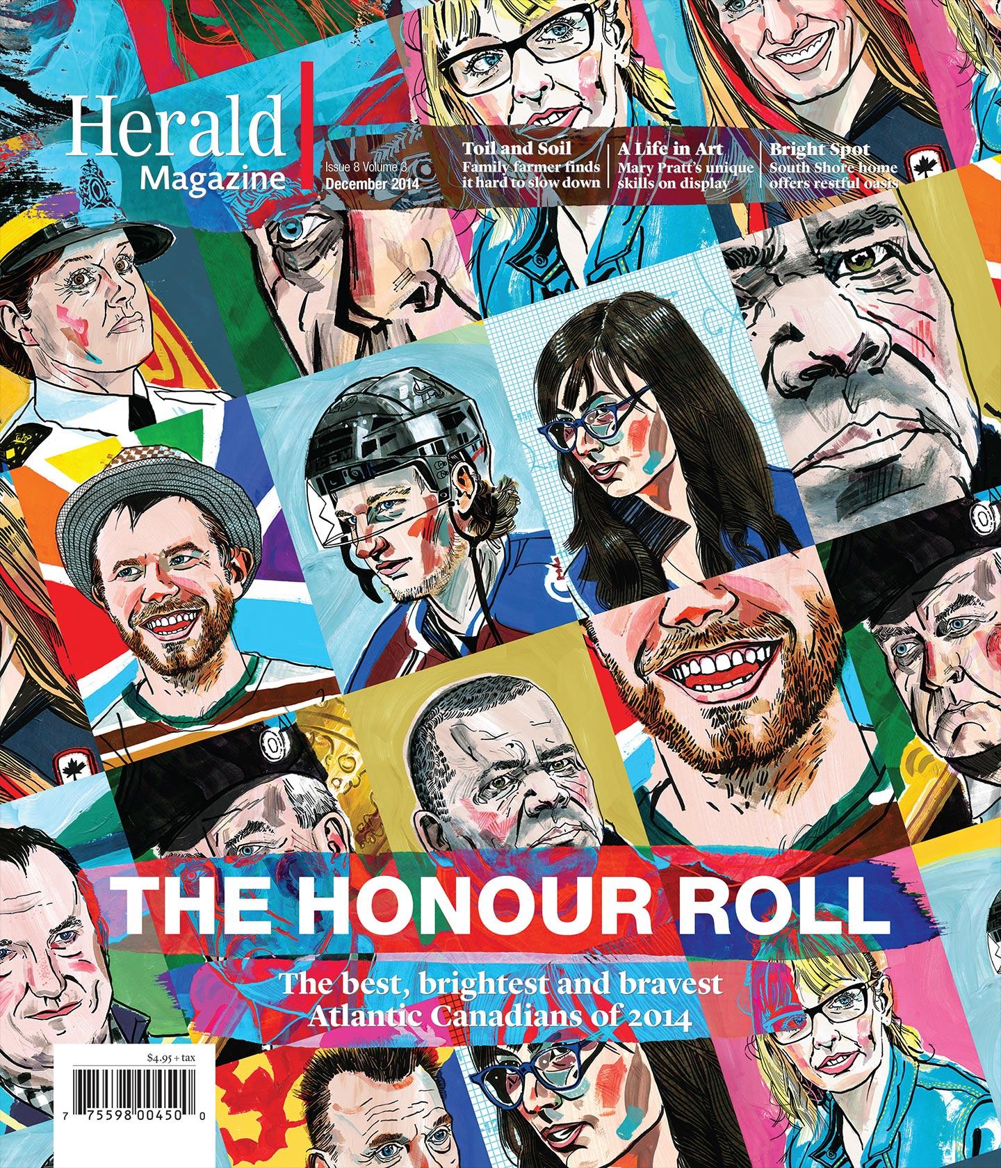 Cover art december issue.