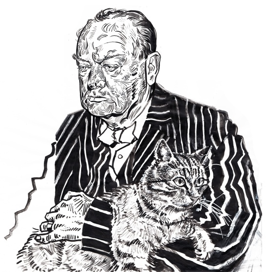 Churchill & Jock for The Londonist.