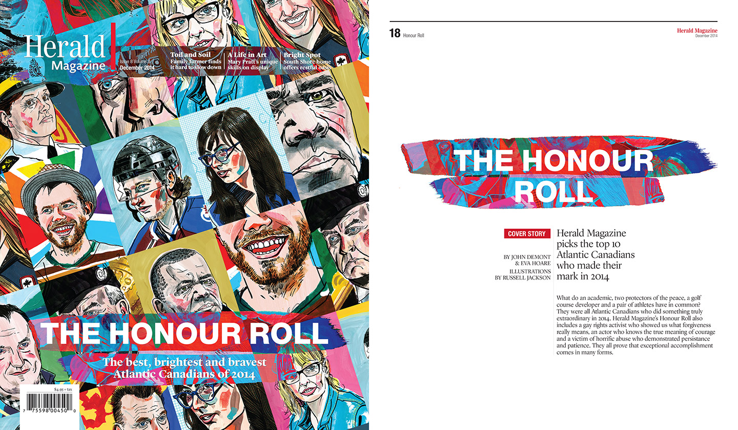 honour roll: cover/intro