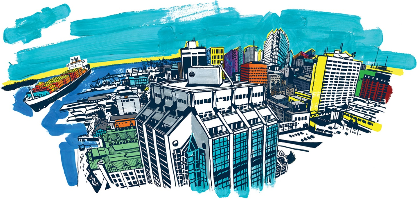 Halifax Future Skyline for The Chronicle Herald.