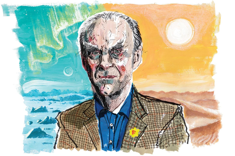 Sir Ranulf Fiennes.